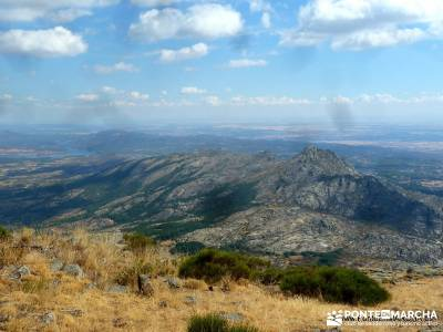 Mondalindo - Mina de plata del Indiano; guia senderismo ruta en madrid rutas de senderismo por espa�